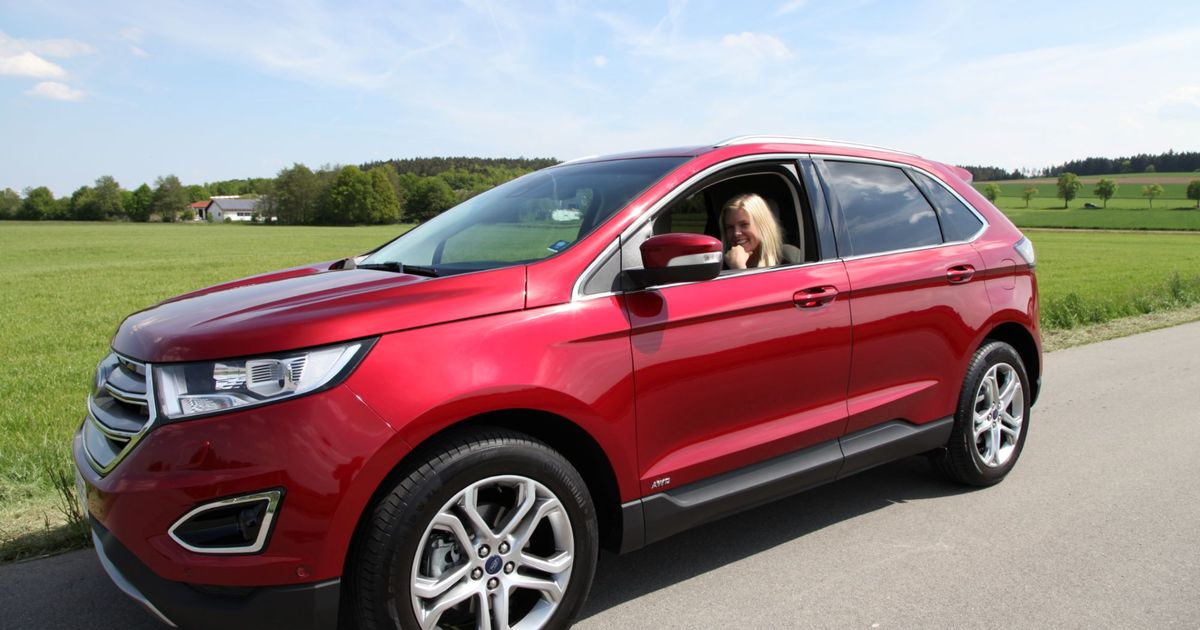 test drive of the all new ford edge in munich gardsfruene. Black Bedroom Furniture Sets. Home Design Ideas
