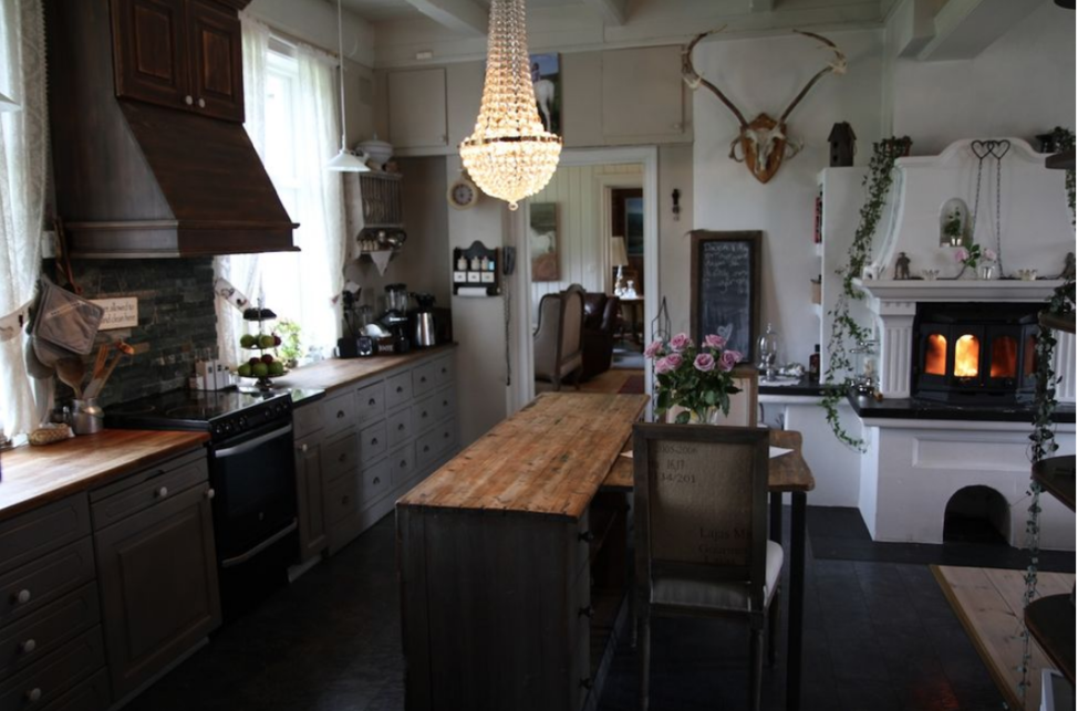 old farm kitchen